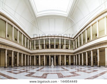 Inside The Palace Of Justice With The Court In Aix En Provence