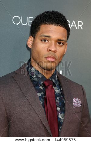 LOS ANGELES - AUG 29:  Deric Augustine at the Premiere Of OWN's