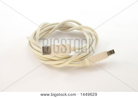 Rolled-Up Usb Cable