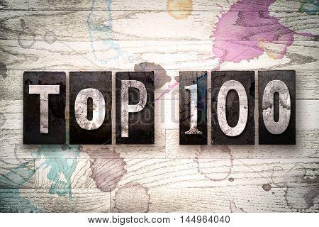 Top 100 Concept Metal Letterpress Type