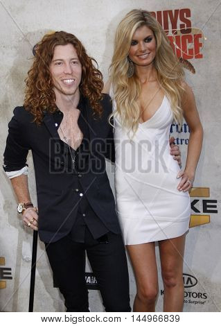 Shaun White and Marisa Miller at the 2010 Guys Choice Awards held at the Sony Pictures Studios in Culver City, USA on June 5, 2010.