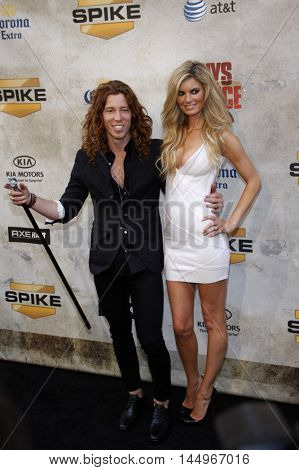 Marisa Miller and Shaun White at the 2010 Guys Choice Awards held at the Sony Pictures Studios in Culver City, USA on June 5, 2010.