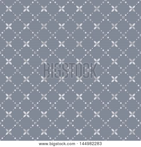 Abstract geometric pattern small spots and dots. Seamless vector pattern. Abstract background.