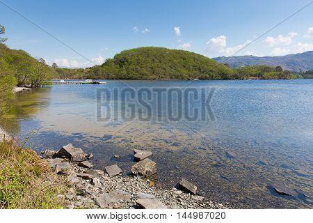 Loch Morar Scotish loch in the highlands West Scotland south of Mallaig