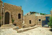 old stone city Jaffa in Tel Aviv poster