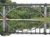 Reflected Country Bridge