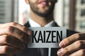 Kaizen (Japanese business philosophy of continuous improvement) poster