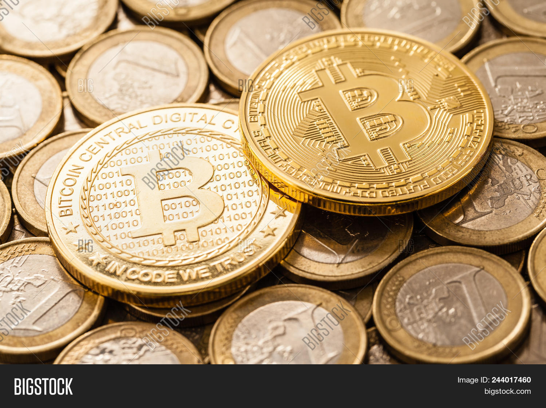 Studio Shot Bitcoin Image & Photo (Free Trial)   Bigstock