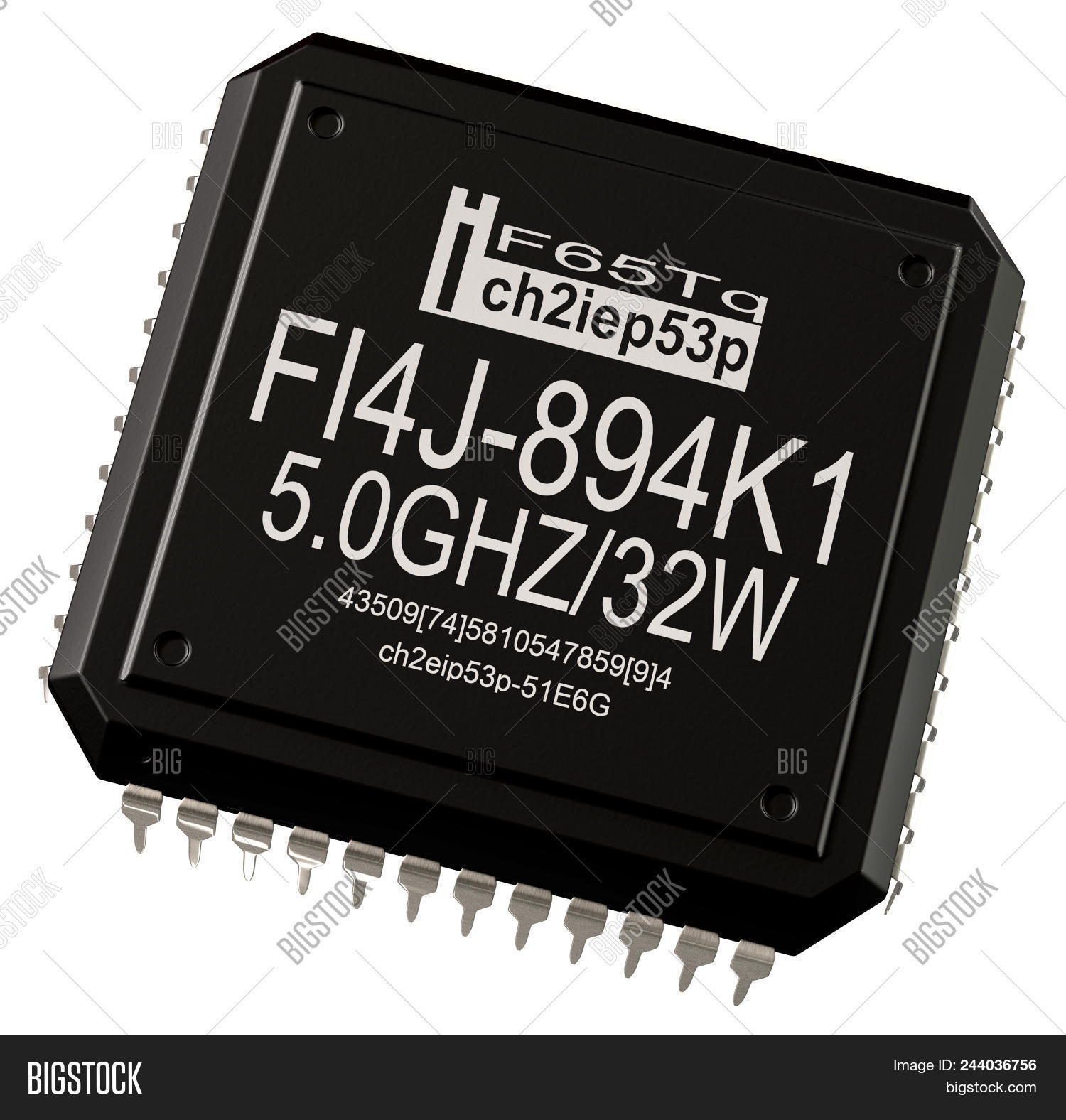 Integrated Circuit Image Photo Free Trial Bigstock Of Computer Parts Micro Chip Artificial Intelligence Learning Machine Future 3d