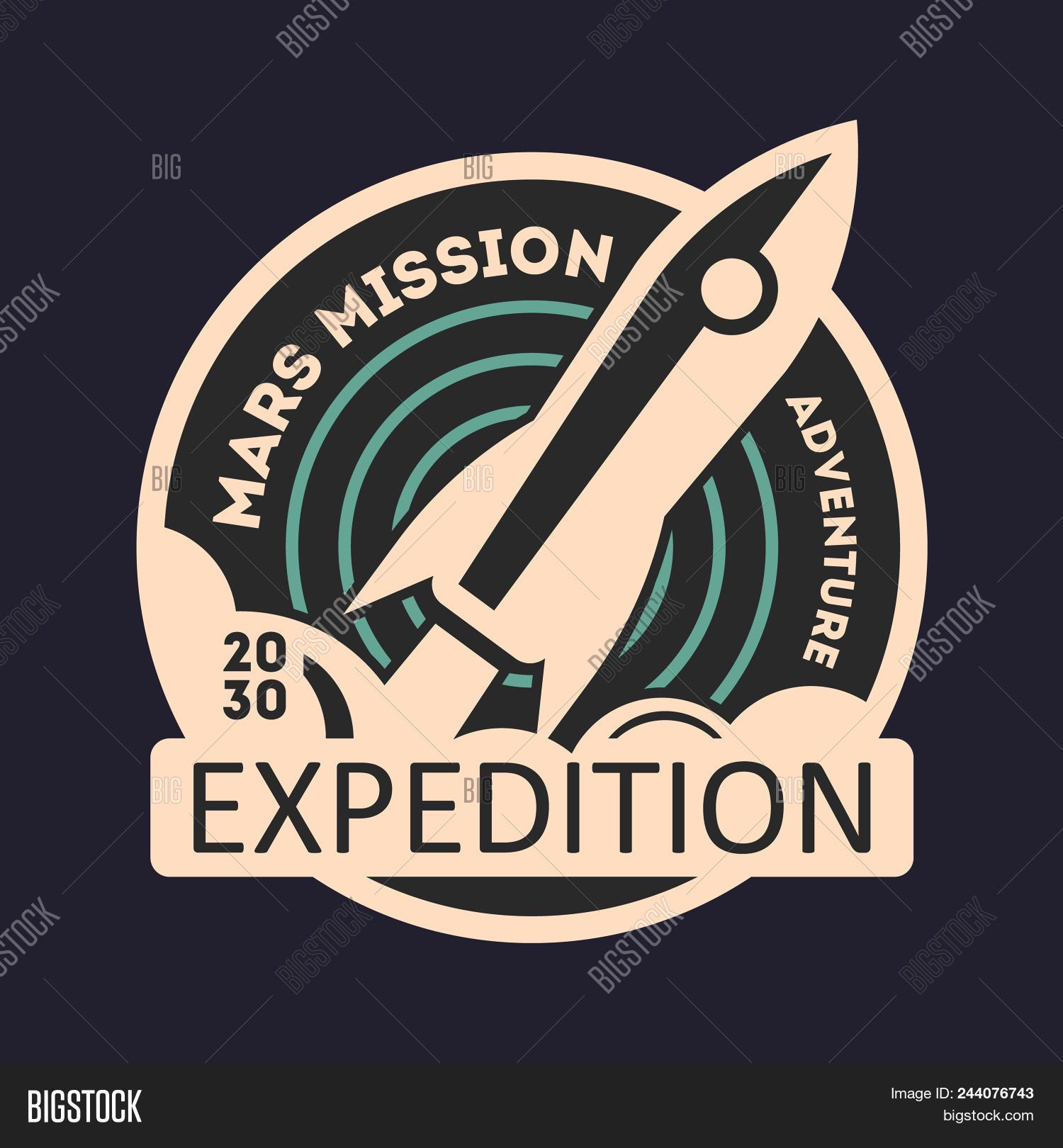 Mars Mission Vintage Image Photo Free Trial Bigstock