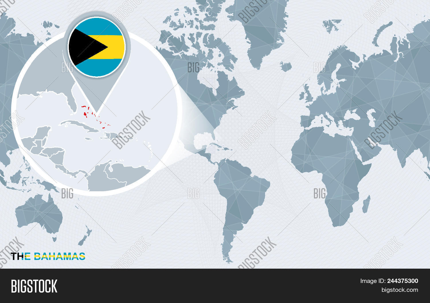World Map Centered On Vector Photo Free Trial Bigstock
