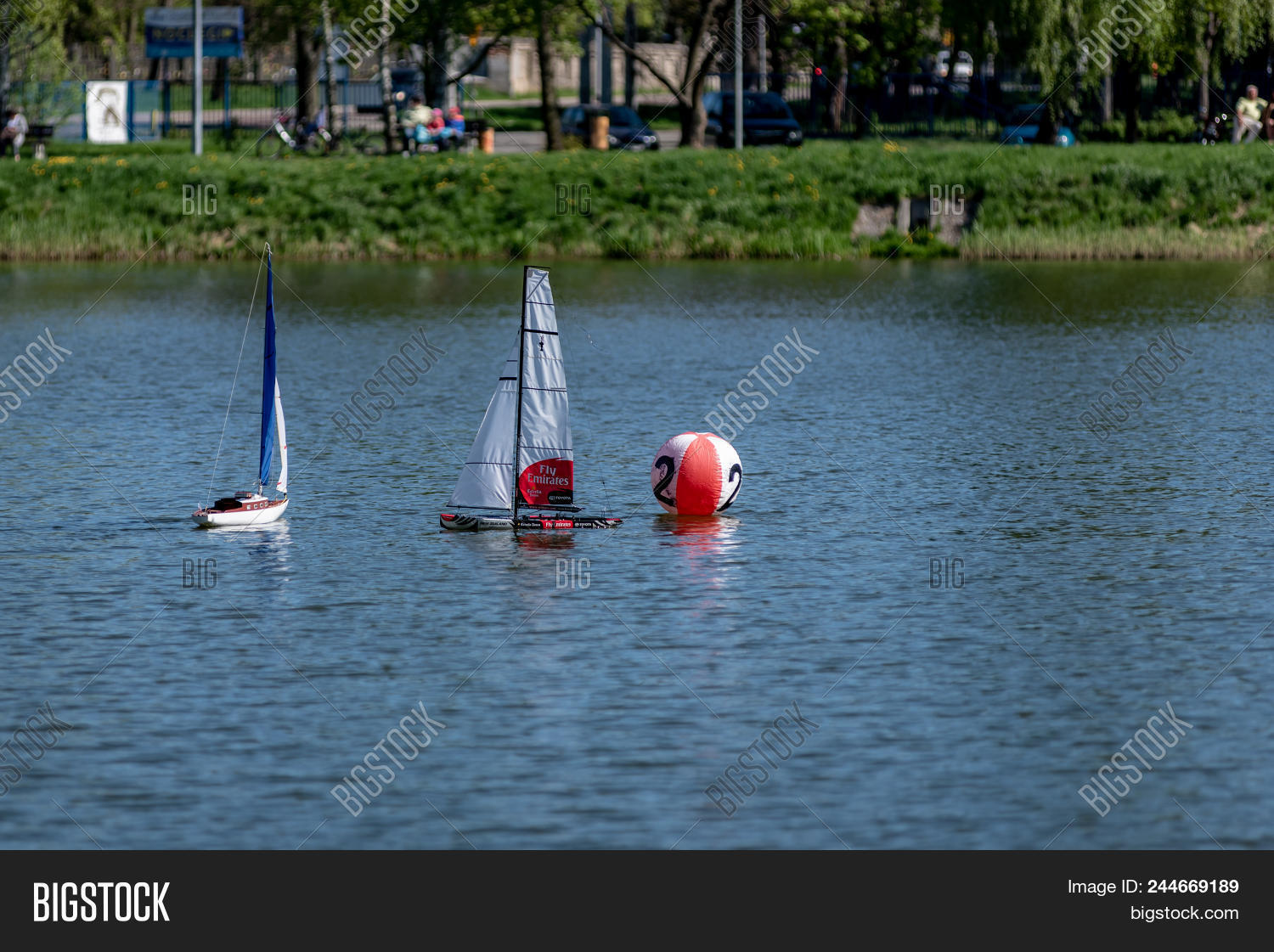 Rc Scale Sailing Model Image & Photo (Free Trial) | Bigstock
