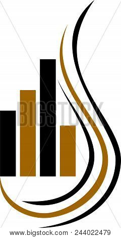 Tobacco Fund Club Stock Commodity Logo Design Template Isolated Vector