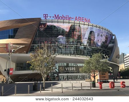 Las Vegas, Nevada - (11/19/17)) The T-mobile Arena Is The Newest Sports And Entertainment Venue Loca