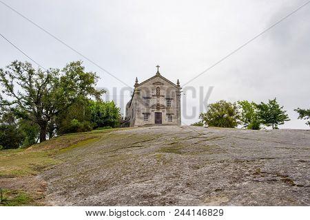 Povoa De Lanhoso, Portugal - May 31, 2018 : Image Of Our Lady Of Pilar Braga, Portugal