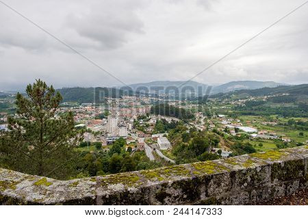 Povoa De Lanhoso, Portugal - May 31, 2018 : From Pilar Hill We Can See Part Of The Municipality Of P