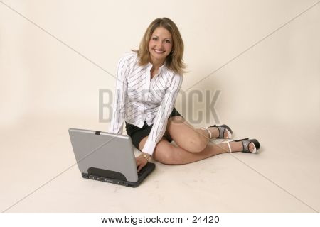 Lap Top Girl