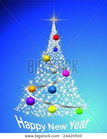 Christmas (New Year) tree
