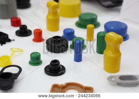 Colorful Pastic Parts Made By Injection Process
