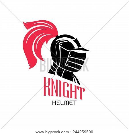 knight helmet logo vector photo free trial bigstock