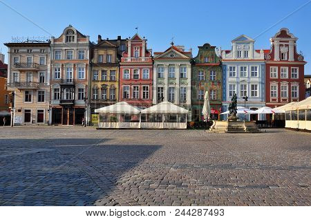 View Of The Market Square Of Poznan City