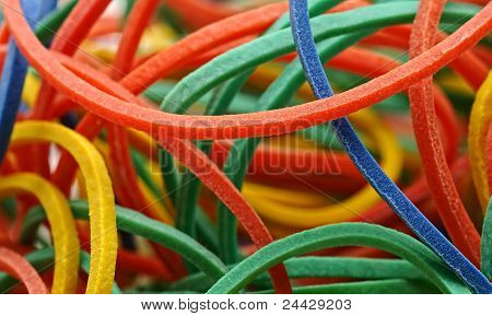 Colors rubber band