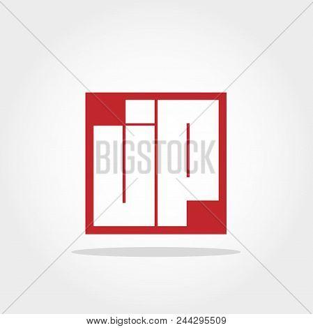Initial Letter Jp Logo Template Vector Design
