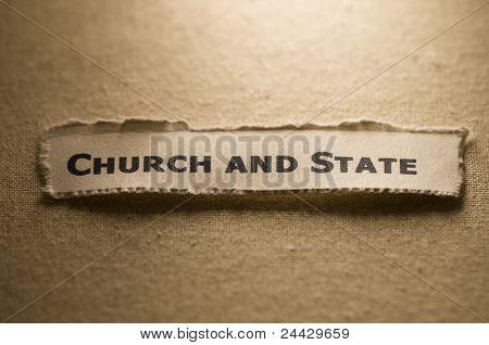 Iglesia y el estado