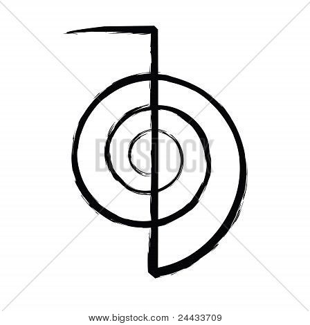 Reiki Power Symbol Cho Image Photo Free Trial Bigstock
