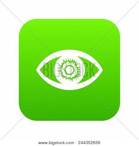 One Eye Icon. Simple Illustration Of One Eye Vector Icon For Web
