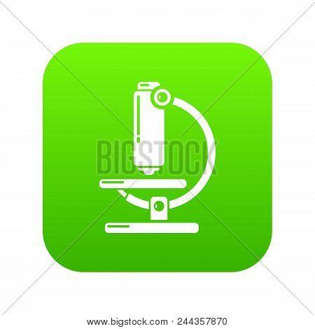 Microscope Modern Icon. Simple Illustration Of Microscope Modern Vector Icon For Web