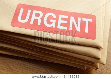 Urgent documents for despatch