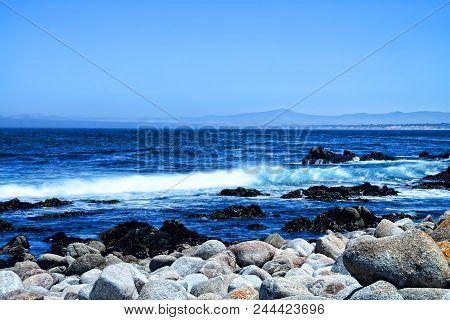 Soft Focus Slow Shutter Speed Asilomar State Marine Reserve California