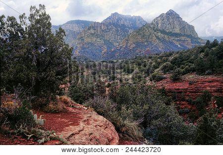 Red Rock Country Mountains Surrounding Sedona Arizona