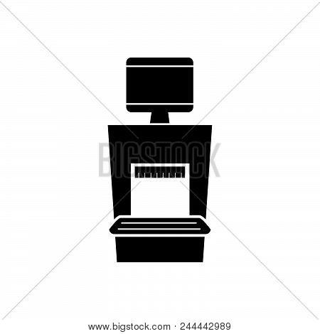 Xray Machine Vector Icon On White Background. Xray Machine Modern Icon For Graphic And Web Design. X