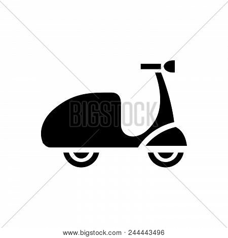 Bike Vector Icon On White Background. Bike Modern Icon For Graphic And Web Design. Bike Icon Sign Fo