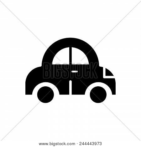 Car Vector Icon On White Background. Car Modern Icon For Graphic And Web Design. Car Icon Sign For L