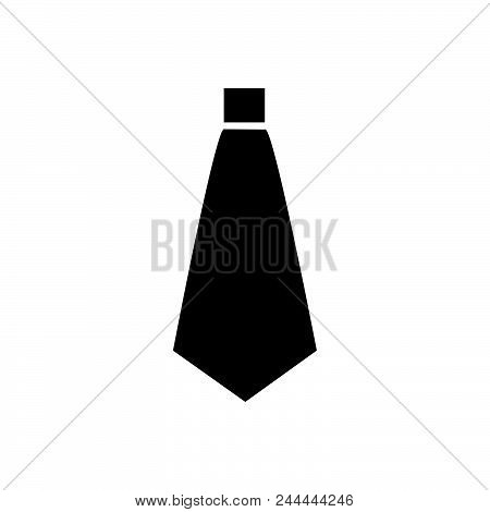 Tie Vector Icon On White Background. Tie Modern Icon For Graphic And Web Design. Tie Icon Sign For L