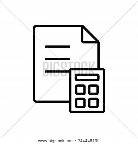 Finance Vector Icon On White Background. Finance Modern Icon For Graphic And Web Design. Finance Ico