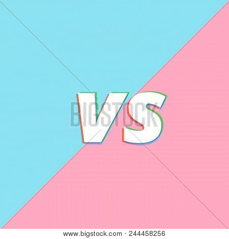 versus sign on vector photo free trial bigstock