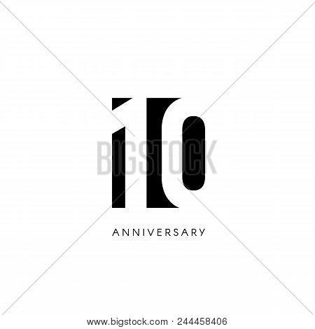 Ten Anniversary Vector Photo Free Trial Bigstock