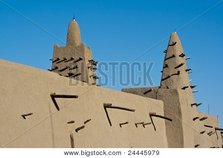 Mud Brick Mosque, Timbuktu.