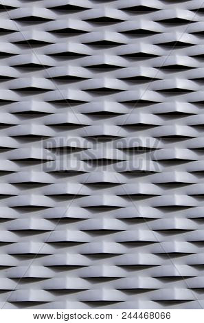 Metal Protection Grille With Reliefs
