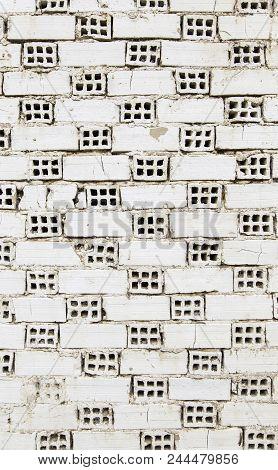 White Mud Bricks With Holes