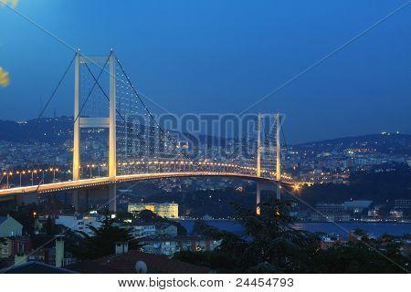 Istanbul Bosphorus Bridge