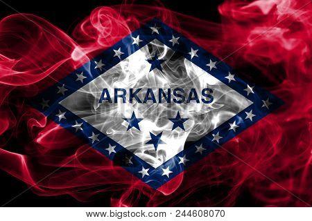 Arkansas State Smoke Flag, United States Of America