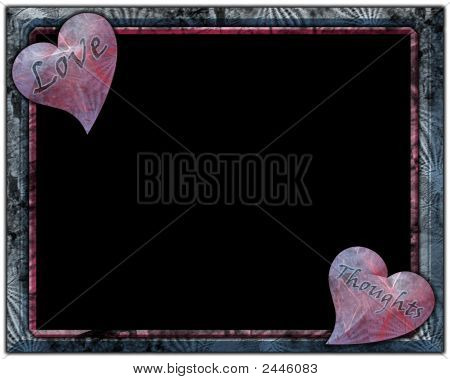 Love Thoughts Frame