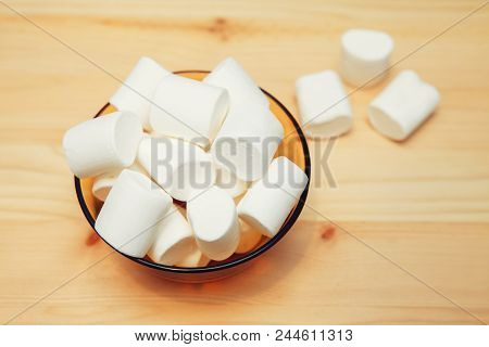 Marshmallow Candies, Sweets, Dessert Airy Sweet Delicious