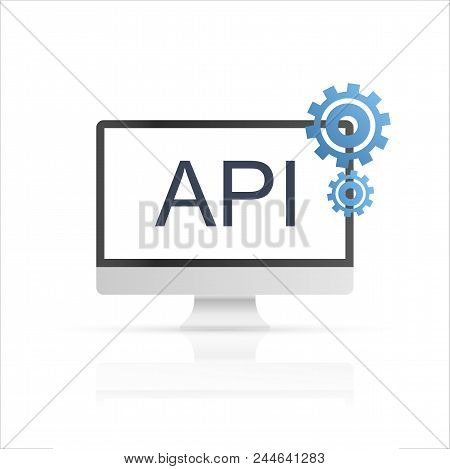 api connection world vector photo free trial bigstock