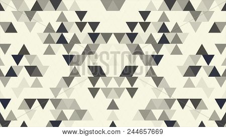 Abstract Random Geometric Polygon Background. Triangles Abstract Background Animation Seamless Loop.